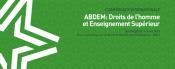 Conférence internationale du Projet ABDEM : Droits de l'homme et Enseignement Supérieur